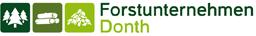 Logo zum Forstunternehmen Donth, Waltershausen